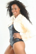 Natacha Moura, model from São Paulo, Brazil