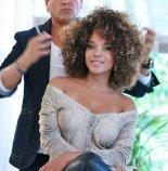 Actress Aparecida Petrowky rocks her natural curly afro