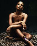 Actress/singer Thalma de Freitas takes sensual photos for magazine