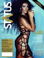 Actress Cris Vianna featured on the cover of Status magazine