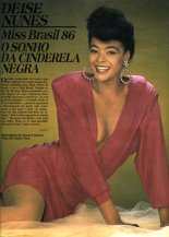 """""""In the midst of so many blondes, a black woman wins"""": Deise Nunes, the first and only black woman to ever win the Miss Brasil pageant"""