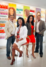 Former maid's formula for curly-kinky hair leads to a 12-store hair salon in Rio, a rare example of a successful black Brazilian businesswoman