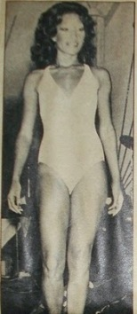 Apelonice Lima: The would be winner of a 1977 beauty contest in southern Brazil - Judge denied her victory because she was black