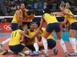 Volei - Wins gold