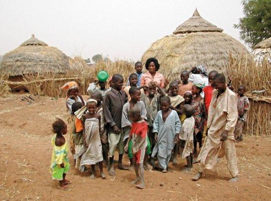 Working with children in Nigeria