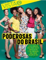 "Fernanda Silva of Salvador, Bahia, Brazil featured in new fashion ad ""The Powerful of Brazil"""