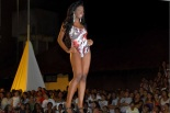"Contestants from ""The Most Beautiful Black Woman of Amapá"" contest"