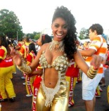 Pâmella Gomes, Princess of the Tom Maior Samba School: From a family dedicated to the Samba of Carnaval