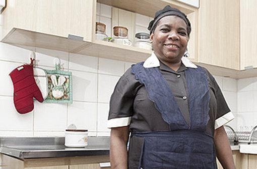 Domestic worker Marina Santa Elisiario