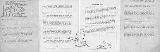 """Reproduction of the chapter """"Do preço da paz (Of the price of peace)"""" of the document Escola Superior de Guerra de 1988 (Superior School of War of 1988)"""