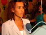 Journalist Kalinca Nascimento of the VTV Network