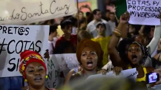 """Revolt of the Turbans"" proclaim black demands during historic protests in Rio de Janeiro"