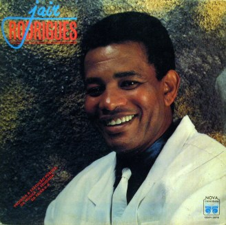 Samba singer Jair Rodrigues on LP cover, cerca 60s/70s