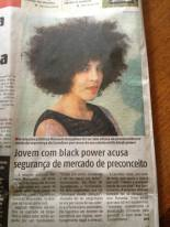 Manoela Gonçalves was followed in supermarket by a security guard because of her hair