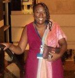Silvana Veríssimo of the Instituto Nzinga Mbandi (Nzinga Mbandi Institute)