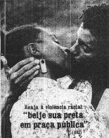 """Caption: """"React to racial violence: Kiss your black woman in a public square"""""""