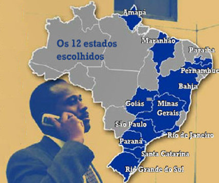 Project focused on 12 states throughout Brazil