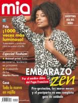 """Model Lemylie Sozah featured on the current cover of Argentine magazine """"Mia"""""""