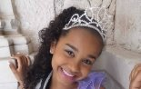 Eight-year old Maria Sant'Anna Victorya Manzi  was crowned Mini Miss America International in a contest in Mexico in July