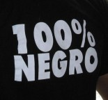 100% negro (camiseta)
