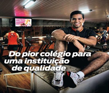 Dioleno Tavares da Costa: From the worst high school to a quality institution