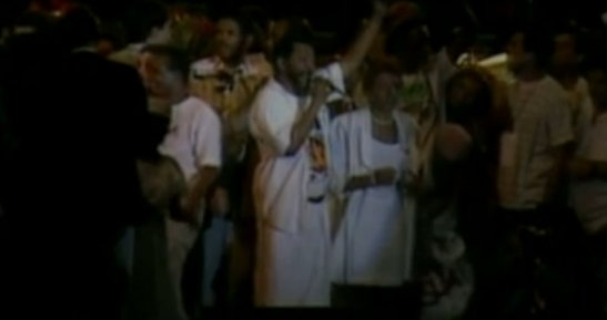 Party featuring singers Martinho da Vila and Leci Brandão