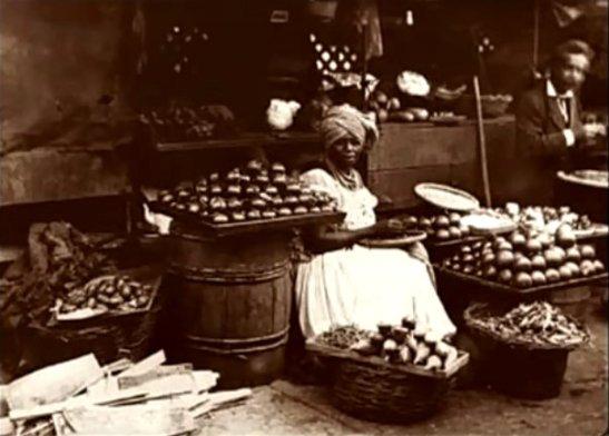 Sprzedawca, Rio de Janeiro, 1875