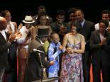 Legendary actress Ruth de Souza was honored at the 2013 edition of the Grande Prêmio do Cinema Brasileiro