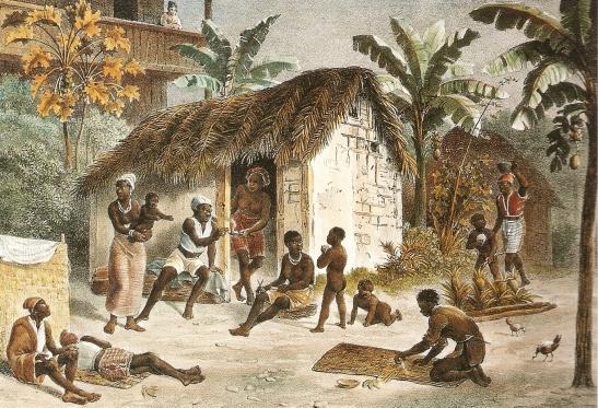 Senzala lub kwatery dla niewolników