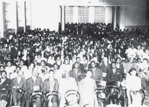Anniversary delegation of the FNB in 1935