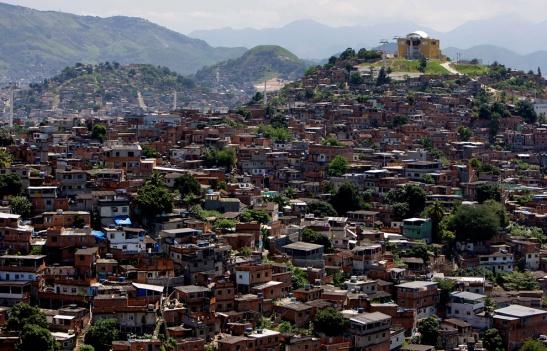 Complexo do Alemão favela in Rio