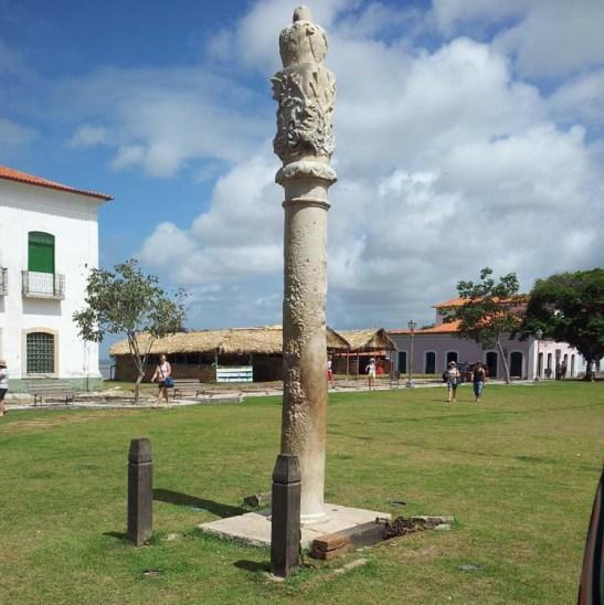 Praça Matriz, a pelourinho in Alcântara, Maranhão (northeast Brazil)