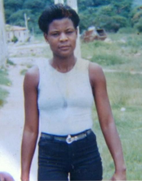 The victim, Cláudia Ferreira da Silva