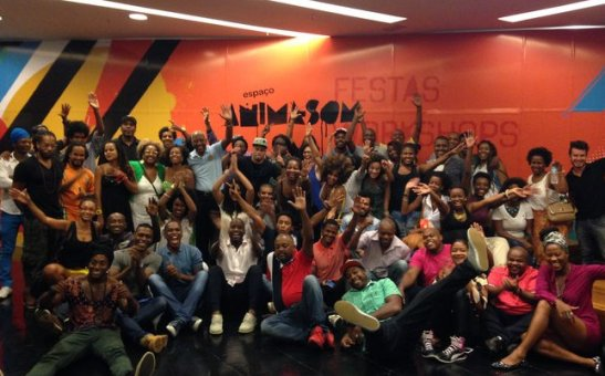 Around 100 friends, all black, attended the film showing at the Kinoplex Fashion Mall 1 in Rio