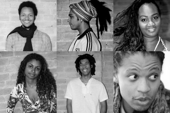 Members of the Coletivo Negro