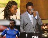 Soccer legend Pelé (right)