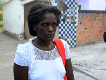 Diva Suterio Ferreira, the victim's mother