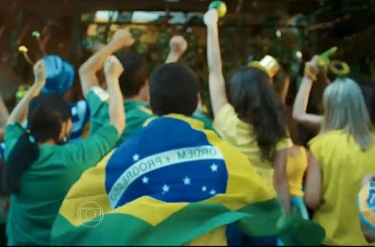 "Scene from Globo TV's ""We are one"" World Cup promo"