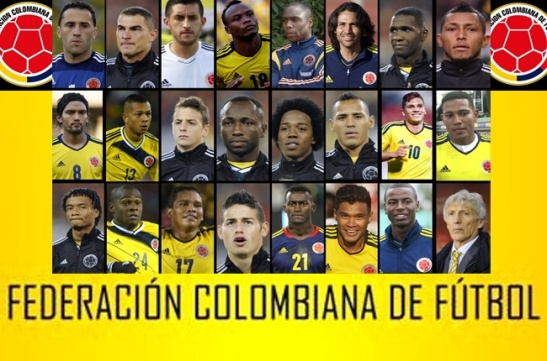 2014 World Cup team of Columbia