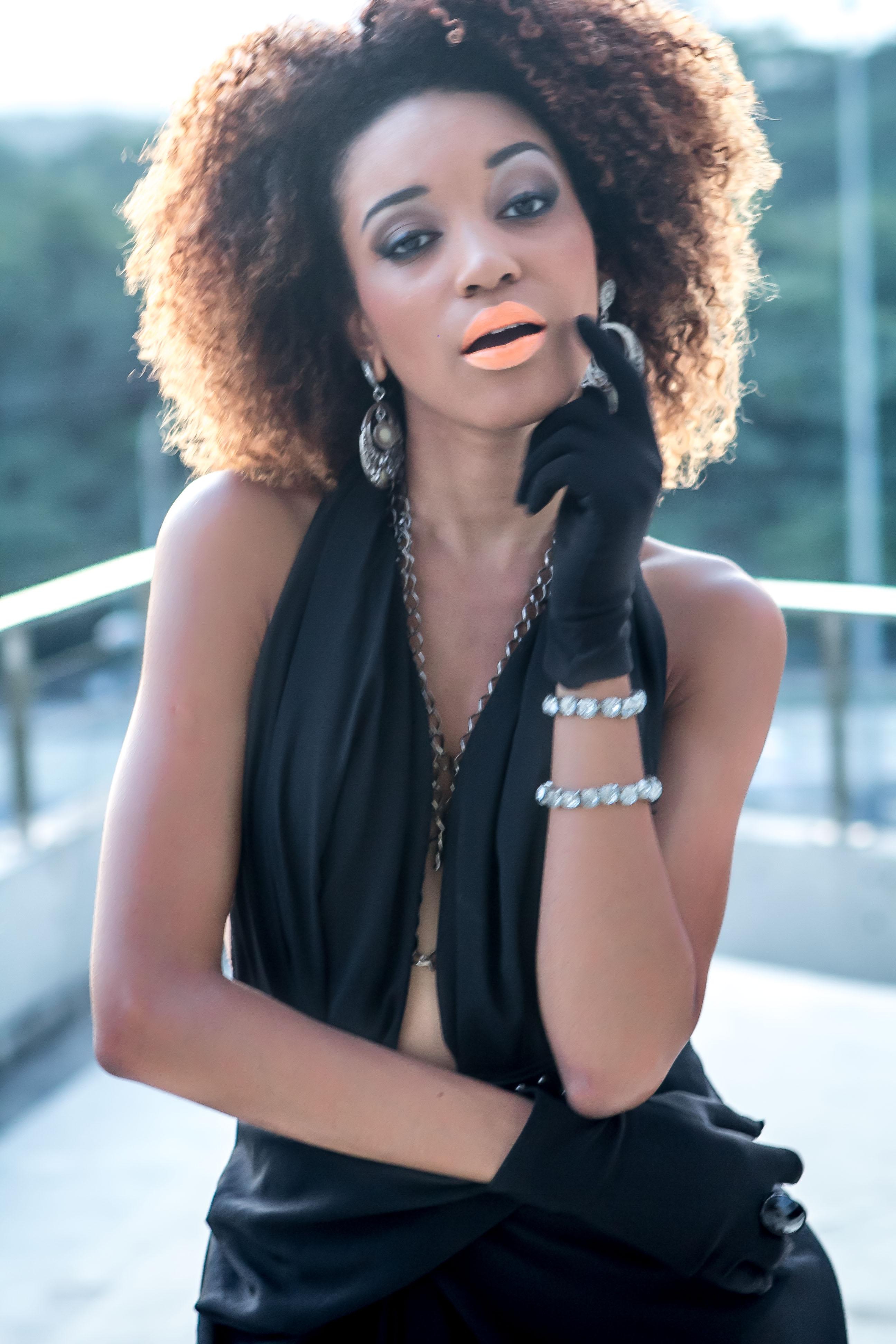 Faces of Afro Brazil 29: Actress Stefanie Durval | Black Women of Brazil