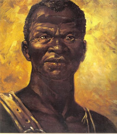 Popular painting of Zumbi