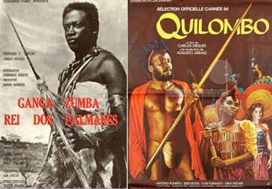 "1964 film ""Ganga Zumba"" and 1984 film ""Quilombo"""