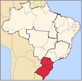 "The states of Paraná, Santa Catarina and Rio Grande do Sul, the three Brazilian states that received massive European immigration in the 19th century. 80% of Brazilians who live in these states today classify themselves as ""branco"" (white)"