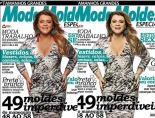 Singer Preta Gil's skin was lightened on a recent magazine cover. Photo shows before and after
