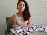 Communications student Isabela Reis found that black girl are almost completely invisible in Brazil's teen magazines