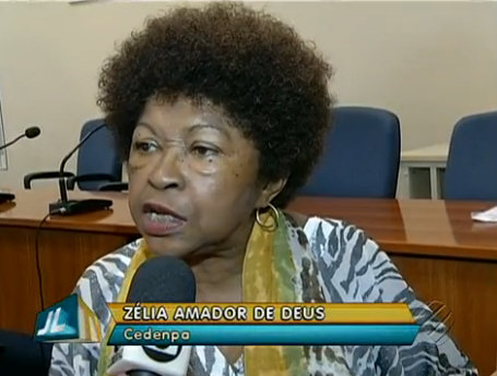 Zélia Amador de Deus of state branch of the Movimento Negro believes the case should be treated as racism rather than the lighter accusation of racial injury/slur