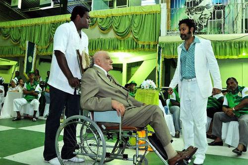 "Scene from HBO series ""Filhos do Carnaval"""