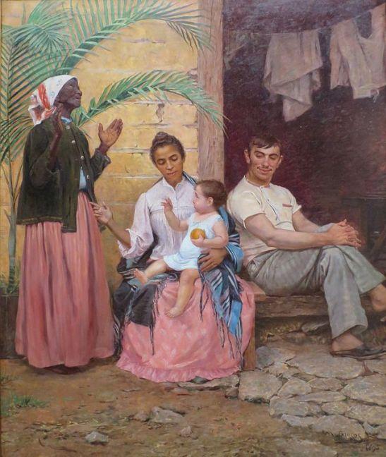 """""""A Redenção de Cam"""" by Modesto Brocos (1895)"""