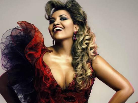 Singer Gaby Amarantos