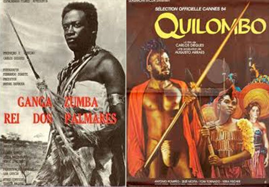 1964 film 'Ganga Zumba' and 1984's 'Quilombo' tell the saga of the Palmares quilombo